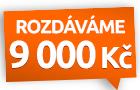 Rozdáváme 9 000 Kč na další nákupy