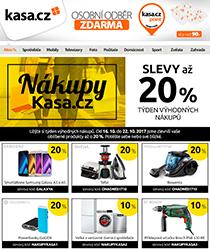 Slevy až 20 %! Užijte si týden nákupů na Kasa.cz