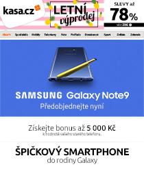 Špičkový smartphone Galaxy Note9 přichází !