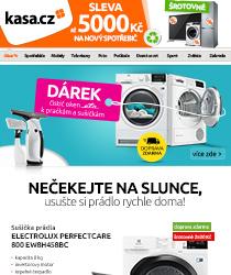 Sušička Electrolux se slevou 2500 Kč a NAVÍC s dárkem!