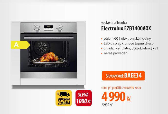 Trouba Electrolux EZB3400AOX nerez