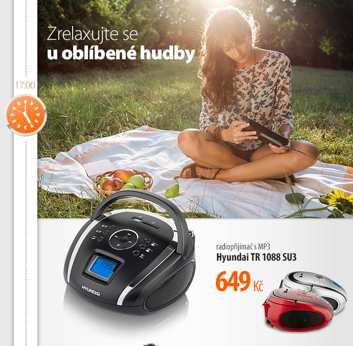 Radiopřijímač s MP3 Hyundai TR 1088 SU3