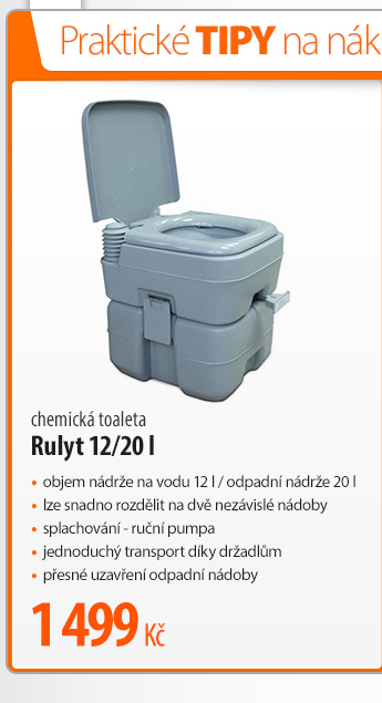 Chemická toaleta Rulyt 12/20 l