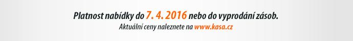 Platnost nabídky do 7. 4. 2016 nebo do vyprodání zásob