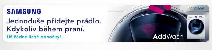 Pračky Samsung AddWash