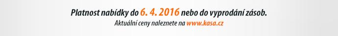 Platnost nabídky do 6. 4. 2016 nebo do vyprodání zásob