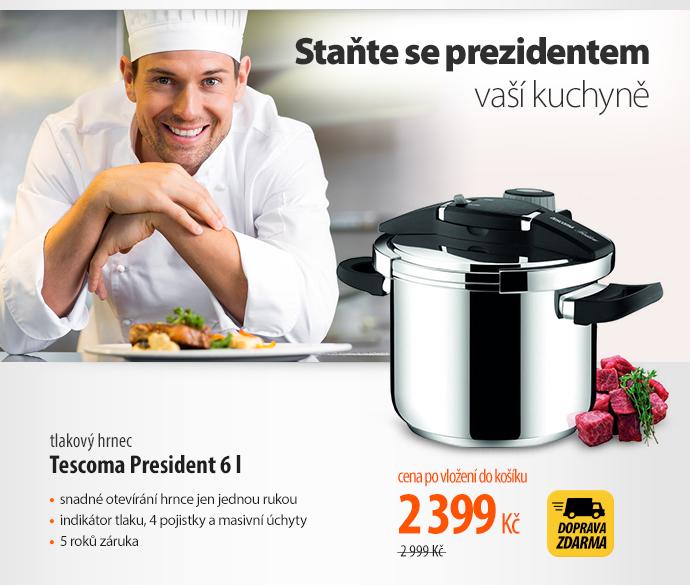 Tlakový hrnec Tescoma President