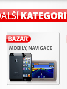 Výprodej telefonů, navigací