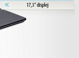 """Notebooky 17,3"""" displej"""