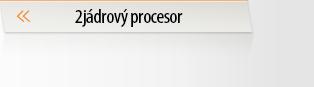 Notebooky 2jádrový procesor