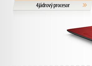 Notebooky 4jádrový procesor