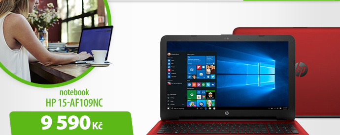 Notebook HP 15-AF109NC