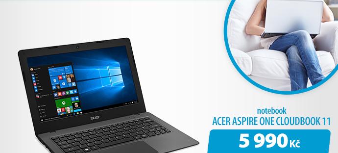 Notebook Acer Aspire ne Cloudbook 11