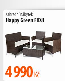 Zahradní nábytek Happy Green FIDJI