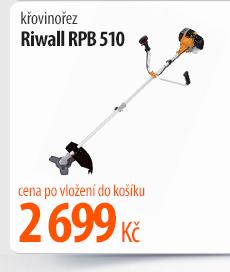 Křovinořez Riwall RPB 510