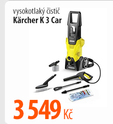 Vysokotlaký čistič Karcher K 3 Car