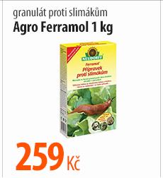 Granulát proti slimákům Agro Ferramol