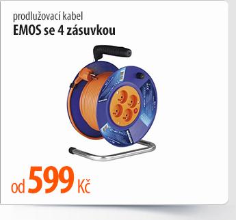 Prodlužovací kabel EMOS 4 zásuvky