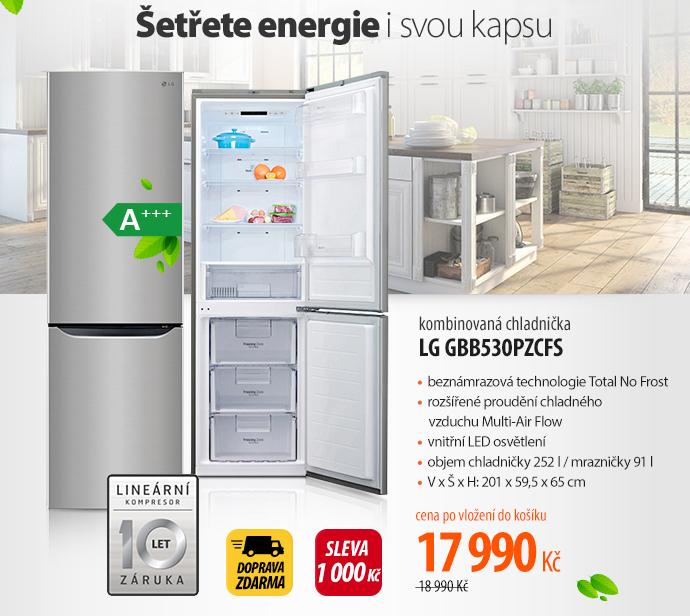 Lednička LG GBB530PZCFS