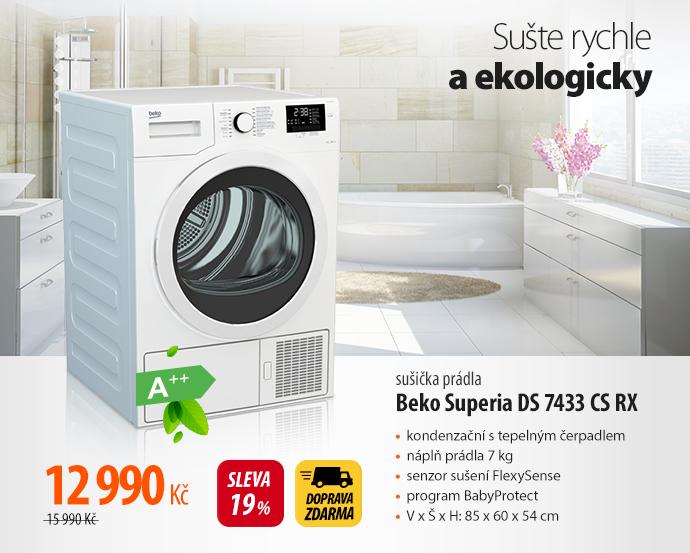 Sušička Beko Superia DS 7433 CS RX