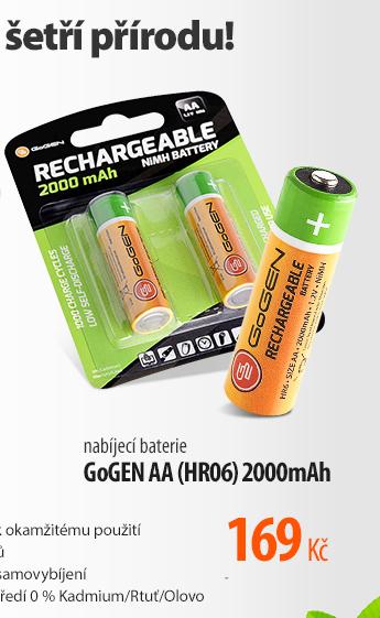 Nabíjecí baterie GoGen AA