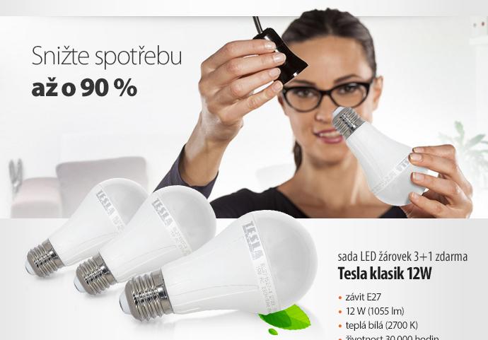 LED žárovky Tesla klasik 12W