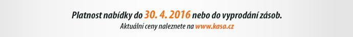 Platnost nabídky do 30. 4. 2016 nebo do vyprodání zásob.