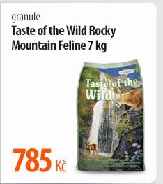 Granule Taste of the Wild Rocky Mountain Feline