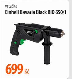 Vrtačka Einhell Bavaria Black BID 650/1