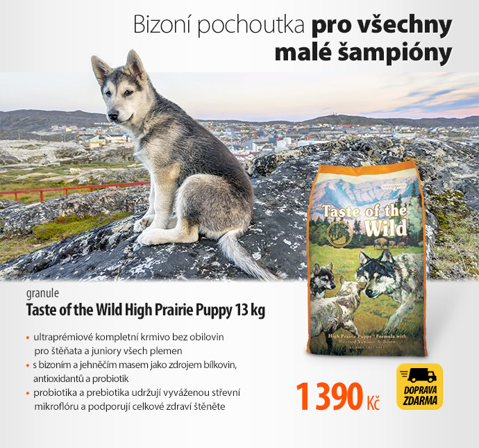 Granule Taste of the Wild High Prairie Puppy