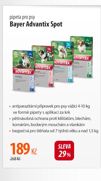 Pipeta pro psy Bayer Advantix Spot