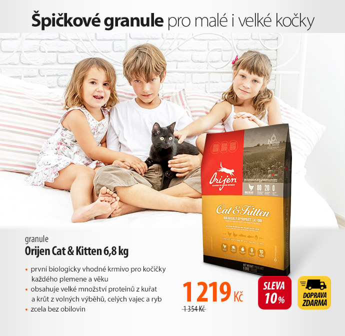 Granule Orijen Cat a Kitten