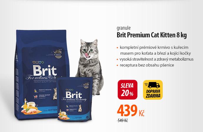 Granule Brit Premium Cat Kitten
