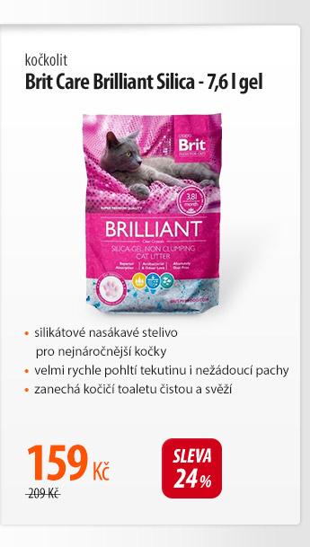 Kočkolit Brit Care Brilliant Silica gel