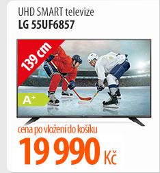 UHD Smart televize LG 55UF6857
