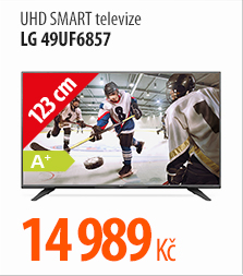 UHD Smart televize LG 49UF6857