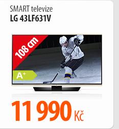 Smart televize LG 43LF631V