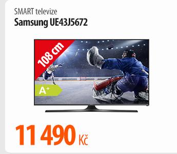 Smart televize Samsung UE43J5672