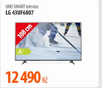 UHD Smart televize LG 43UF6807