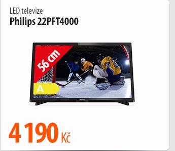 LED televize Philips 22PFT4000