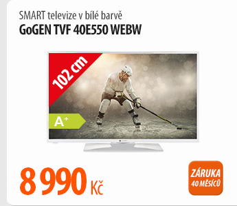 Smart televize GoGen TVF 40E550 WEBW