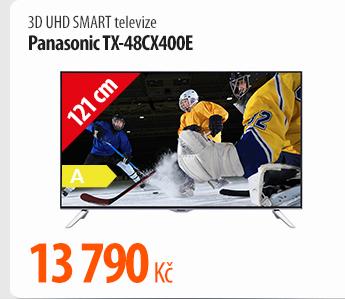 3D UHD Smart televize Panasonic TX-48CX400E