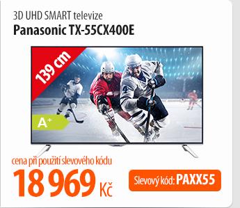3D UHD Smart televize Panasonic TX-55CX400E