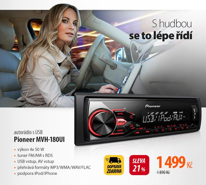 Autorádio s USB Pioneer MVH-180UI