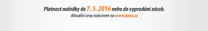 Platnost nabídky do 7. 5. 2016 nebo do vyprodání zásob.