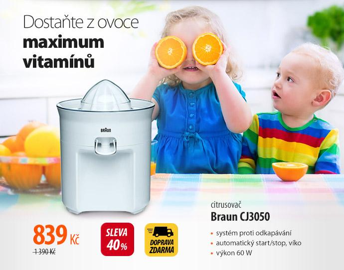 Citrusovač Braun CJ3050