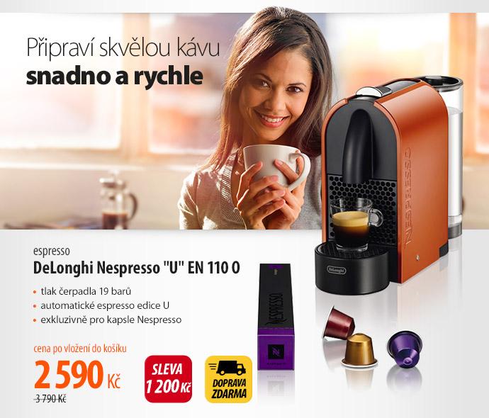 """Espresso DeLonghi Nespresso """"U"""" En 110 O"""