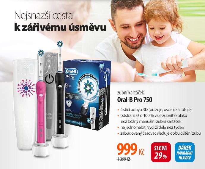 Elektrický zubní kartáček oral-B Pro 750