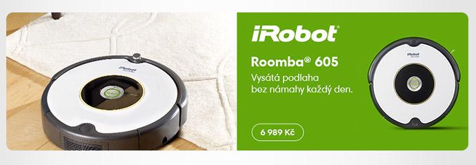 Robotický vysavač iRobot Romba