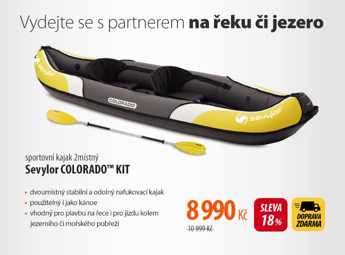 Sportovní kajak Sevylop Colorado Kit